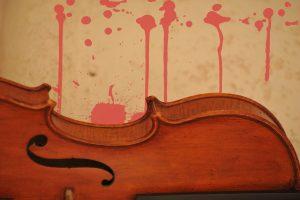 guitarra sangrienta